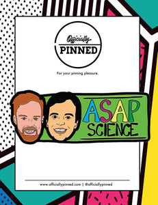 AsapSCIENCE Logo Pin