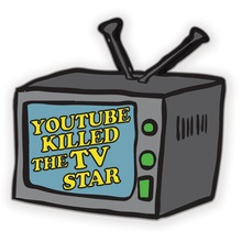 Load image into Gallery viewer, YouTube Killed The TV Star Enamel Pin
