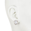 Emerald Cut<br/> Clip Earring