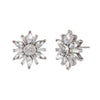 Star Burst<br/> Button Earring