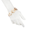 On Cloud Nine</br> Metal Link Gold Tone Bracelet</br> Exclusively Ours