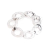 On Cloud Nine </br> Metal Link Silver Tone Bracelet</br> Exclusively Ours