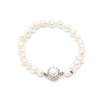 Freshwater Pearl</br> 6mm Single Row Bracelet