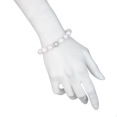 Freshwater Pearl</br>Large Single Row Bracelet