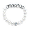Freshwater Pearl<br/>Chain and Freshwater Pearl Bracelet