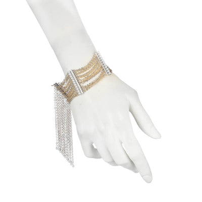 Grace<br/> Flexible Chain Fringe Bracelet