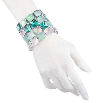 Nicki<br/> Multi Row Pixel Bracelet