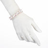 Roisin<br/> Open Cuff with Stones and Pearl Bracelet