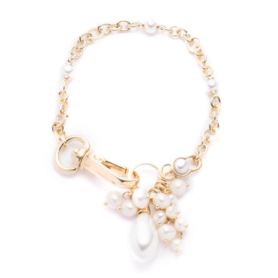 "Sara <br/>7.3"" Flex Chain and Pearl Bracelet"