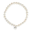 "Freshwater Pearl<br/> 7.5"" Stretch Pearl Bracelet"