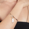 River<br/> Pearl Drop Bangle Bracelet Set