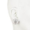 Cluster Button<br/> Clip Earring