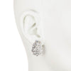 Cluster Stone<br/> Clip Earring