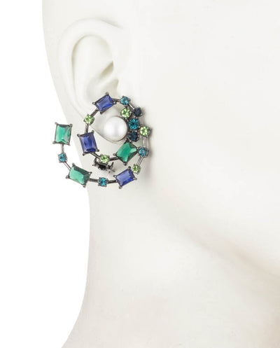 Out All Night<br/> Spiral Clip Earring