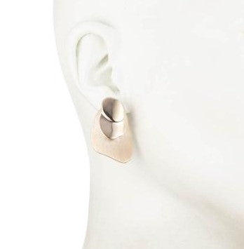 Golden Hour<br/> Three Layer Clip Earring