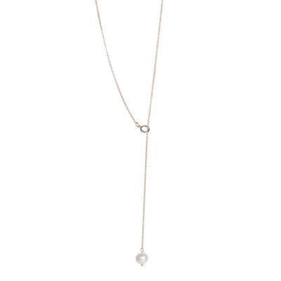 Daisy <br/> Freshwater Pearl Y Necklace