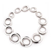 On Cloud Nine </br> Metal Link Silver Tone Necklace</br> Exclusively Ours