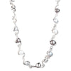 "On Cloud Nine</br> 16"" Metal Ribbon Necklace"