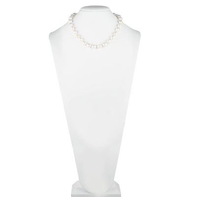 "Freshwater Pearl</br> 18"" Single Row Necklace"