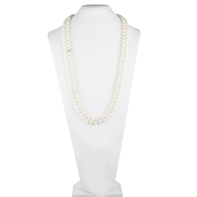 "Freshwater Pearl</br> 64"" Knotted Necklace"