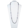 "Fashionably Late<br/> 36"" Freshwater Pearl Station Necklace"