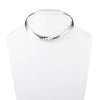 "Michelle<br/>16"" Open Metal Collar Necklace"