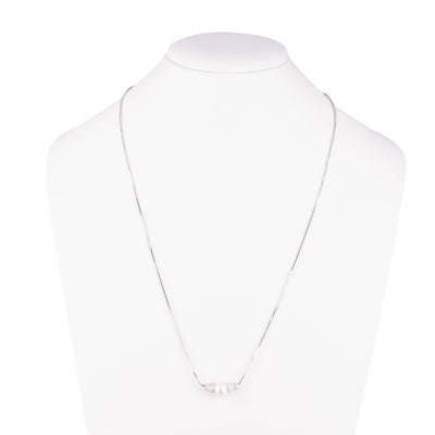 Freshwater Pearl<br/> Pendant Adjustable Necklace