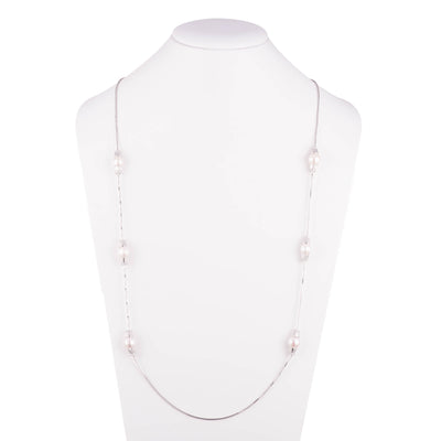 Freshwater Pearl<br/> Station Necklace