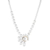 "Cindy<br/> 18"" Pearl Fan Necklace"