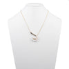 "Cindy<br/> 18"" Pearl Swirl Pendant Necklace"