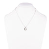 Freshwater Pearl<br/> C Pendant Necklace