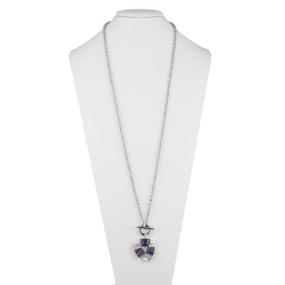 Daphne<br/> Toggle Necklace with Charm