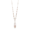 Roisin<br/> 34in Resin and Pearl Pendant Necklace
