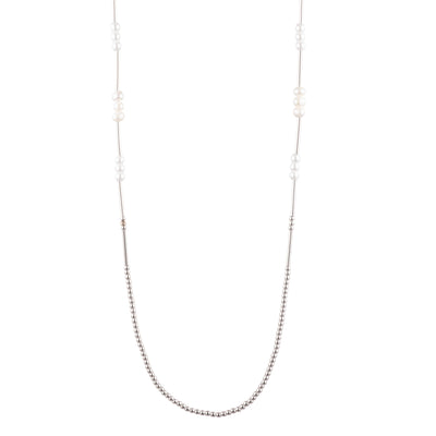 "Sara <br/>32"" Pearl Necklace"