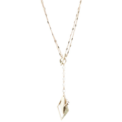 Flora <br/> Convertible Y-Pendant Necklace