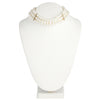 Flora <br/> 3 Row Pearl Choker Necklace