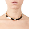 Iris<br/> Pave Collar Necklace