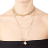 Kate<br/> Layered Snake Chain Necklace