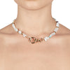 Eden<br/> Beaded Keshi Pearl Necklace