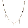 River<br/> Pave Bar Fringe Necklace