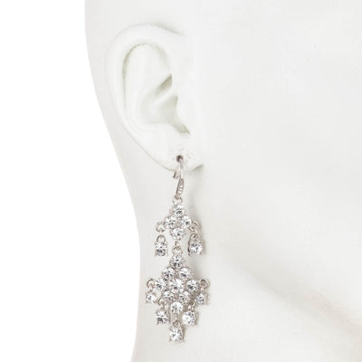 Double Drop<br/> Chandelier Earring