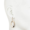 On Cloud Nine</br>Metal Drop Gold Tone Earring</br>Exclusively Ours