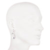 On Cloud Nine</br> Metal Drop Silver Tone Earring</br> Exclusively Ours