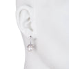 Freshwater Pearl</br>Pave Cap Drop Earring