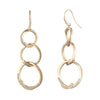 After The Party<br/> Triple Link Linear Earring