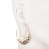 Out All Night<br/> Drama Hoop Earring