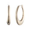 Golden Hour<br/>Sculptural Hoop Earring