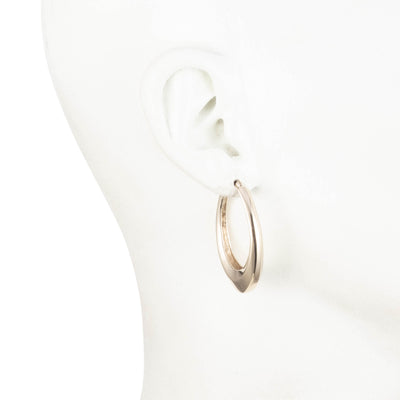 Golden Hour<br/> Sculptural Hoop Earring