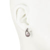 Fashionably Late<br/> Paisley Pave Pearl Earring