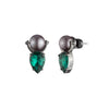 Fashionably Late<br/> Tear Drop Door Knocker Earring